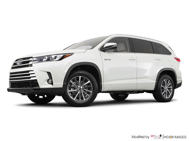 2018 toyota highlander hybrid xle mendes toyota in ottawa. Black Bedroom Furniture Sets. Home Design Ideas