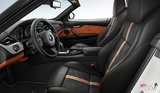 Black/Orange Extended Alcantara/Leather