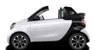 2017 Smart Fortwo Cabriolet - electric