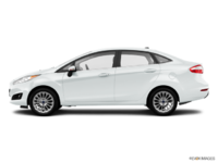 2016 Ford Fiesta TITANIUM SEDAN | Photo 1 | White Platinum