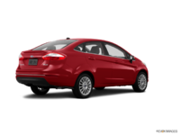 2016 Ford Fiesta TITANIUM SEDAN | Photo 2 | Ruby Red