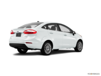 2016 Ford Fiesta TITANIUM SEDAN | Photo 2 | White Platinum