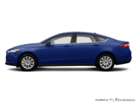 2016 Ford Fusion S | Photo 1 | Deep Impact Blue