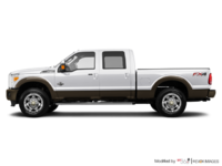 2016 Ford Super Duty F-250 KING RANCH | Photo 1 | White Platinum / Caribou