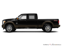 2016 Ford Super Duty F-250 KING RANCH | Photo 1 | Shadow Black / Caribou