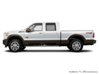 2016 Ford Super Duty F-250 KING RANCH | Photo 1 | Oxford White / Caribou