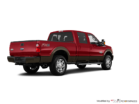 2016 Ford Super Duty F-250 KING RANCH | Photo 2 | Ruby Red / Caribou