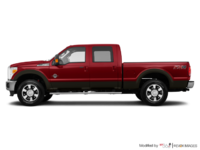 2016 Ford Super Duty F-250 LARIAT | Photo 1 | Ruby Red / Caribou
