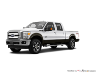 2016 Ford Super Duty F-250 LARIAT | Photo 3 | White Platinum / Caribou