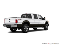 2016 Ford Super Duty F-350 LARIAT | Photo 2 | White Platinum / Caribou
