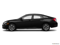 2016 Honda Civic Sedan DX | Photo 1 | Crystal Black Pearl