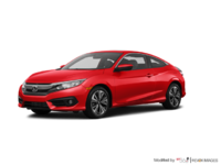 2016 Honda Civic Coupe EX-T | Photo 3 | Rallye Red
