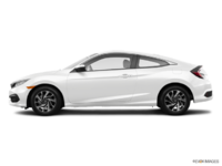 2016 Honda Civic Coupe LX-SENSING | Photo 1 | Taffeta White
