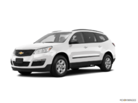 2017 Chevrolet Traverse LS | Photo 3 | Summit White