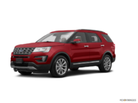 2017 Ford Explorer LIMITED | Photo 3 | Ruby Red