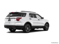 2017 Ford Explorer SPORT | Photo 2 | White Platinum