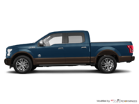 2017 Ford F-150 KING RANCH | Photo 1 | Blue Jeans Metallic/Caribou