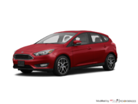 2017 Ford Focus Hatchback SEL | Photo 3 | Ruby Red