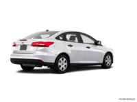 2017 Ford Focus Sedan S | Photo 2 | Oxford White
