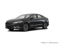 2017 Ford Fusion Hybrid PLATINUM | Photo 3 | Shadow Blakc