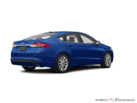 2017 Ford Fusion S | Photo 2 | Lightning Blue