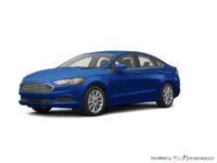 2017 Ford Fusion S | Photo 3 | Lightning Blue