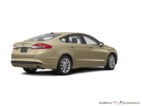 2017 Ford Fusion SE | Photo 2 | White Gold