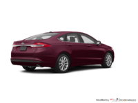 2017 Ford Fusion SE | Photo 2 | Burgandy Velvet