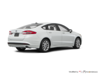 2017 Ford Fusion SE | Photo 2 | White Platinum
