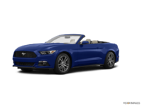 2017 Ford Mustang Convertible EcoBoost Premium | Photo 3 | Lightning Blue