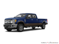2017 Ford Super Duty F-250 LARIAT | Photo 3 | Blue Jeans Metallic/Caribou