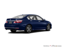 2017 Honda Accord Sedan TOURING V-6 | Photo 2 | Obsidian Blue Pearl