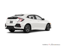 2017 Honda Civic Hatchback LX | Photo 2 | White Orchid Pearl