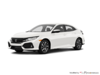 2017 Honda Civic Hatchback LX | Photo 3 | White Orchid Pearl
