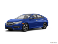 2017 Honda Civic Sedan TOURING | Photo 3 | Aegean Blue Metallic
