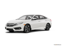 2017 Honda Civic Sedan TOURING | Photo 3 | White Orchid Pearl