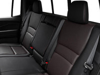 2017 Honda Ridgeline BLACK EDITION | Photo 2 | Black Leather with Red Contrast  Stiching