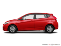 2017 Hyundai Accent 5 Doors GL | Photo 1 | Boston Red