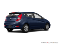 2017 Hyundai Accent 5 Doors GL | Photo 2 | Pacific Blue