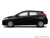 2017 Hyundai Accent 5 Doors L | Photo 1 | Ultra Black