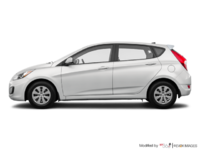 2017 Hyundai Accent 5 Doors L | Photo 1 | Century White