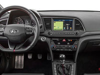 2017 Hyundai Elantra Sport TECH | Photo 3 | Black Leather w/Red Stitching