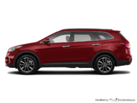 2017 Hyundai Santa Fe XL LUXURY | Photo 1 | Regal Red Pearl