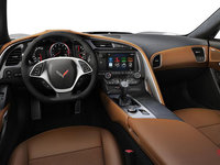2018 Chevrolet Corvette Convertible Stingray Z51 2LT | Photo 2 | Kalahari Competition Sport buckets Leather seating surfaces with sueded microfiber inserts (344-AE4)