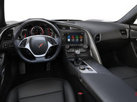 2018 Chevrolet Corvette Convertible Stingray Z51 2LT | Photo 2 | Jet Black Competition Sport buckets Perforated Mulan leather seating surfaces (193-AE4)