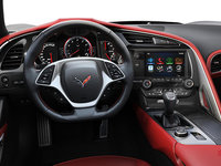2018 Chevrolet Corvette Coupe Grand Sport 2LT | Photo 2 | Adrenaline Red Competition Sport buckets Leather seating surfaces with sueded microfiber inserts (704-AE4)