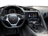 2018 Chevrolet Corvette Coupe Grand Sport 2LT | Photo 2 | Grey GT buckets Leather seating surfaces with sueded microfiber inserts (144-AQ9)
