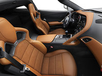 2018 Chevrolet Corvette Coupe Grand Sport 3LT | Photo 1 | Kalahari Competition Sport buckets Leather seating surfaces with sueded microfiber inserts (346-AE4)