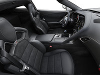 2018 Chevrolet Corvette Coupe Grand Sport 3LT | Photo 1 | Jet Black Competition Sport buckets Leather seating surfaces with sueded microfiber inserts (196-AE4)