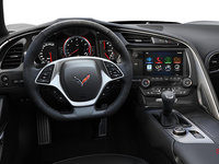 2018 Chevrolet Corvette Coupe Grand Sport 3LT | Photo 2 | Jet Black Competition Sport buckets Leather seating surfaces with sueded microfiber inserts (196-AE4)